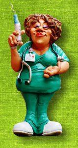 Nurse Administering Vivitrol Shot