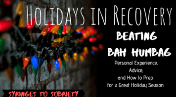 Holidays in Recovery- Beating Bah Humbug